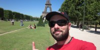 Servidor en la Torre Eiffel
